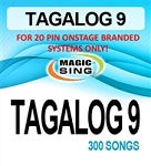 Magic Sing 20 Pin Tagalog9 Song Chip for Onstage