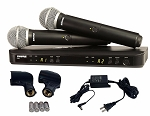 Shure BLX288/PG58 Two Channel BLX Wireless System with 1 PG 58 Mic H7 536-548