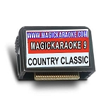 Magic Sing Song Chips - MagicKaraoke 9 COUNTRY