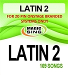 Magic Sing 20 Pin Latin2 SPANISH Song Chip for Onstage
