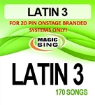 Magic Sing 20 Pin Latin3 Song Chip for Onstage