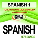 Magic Sing 20 Pin Spanish Song Chip for Onstage