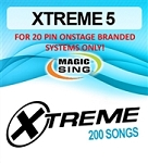 Magic Sing 20 Pin Xtreme Vol 5 Song Chip for Onstage