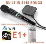 Magic Sing E1 Streaming WiFi Karaoke Mic BUILT-IN 5145 MIX TAGALOG ENGLISH SONGS